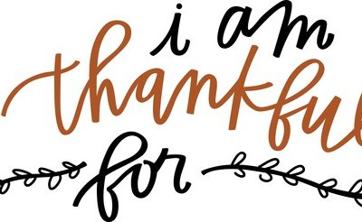 What I'm Thankful For This Year…